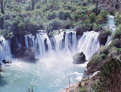 Kravice waterfalls - 52 km